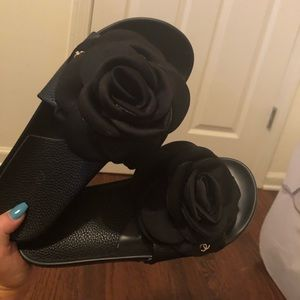 100% authentic Chanel slides